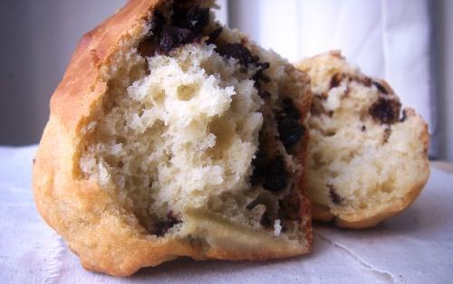 Chocolate chip yoghurt muffins