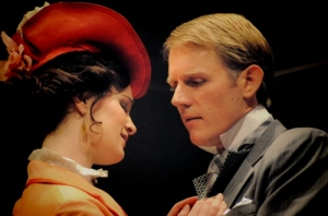 Two actors in The Importance of Being Earnest