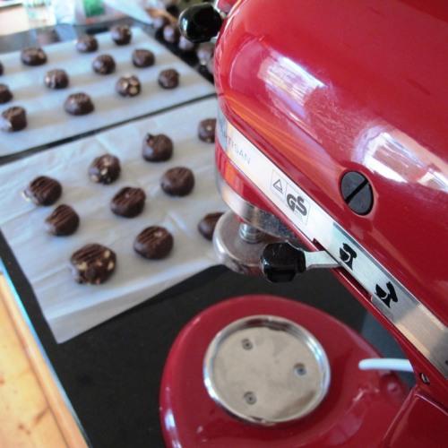 Kitchenaid and the Mocha double chocolate cookies