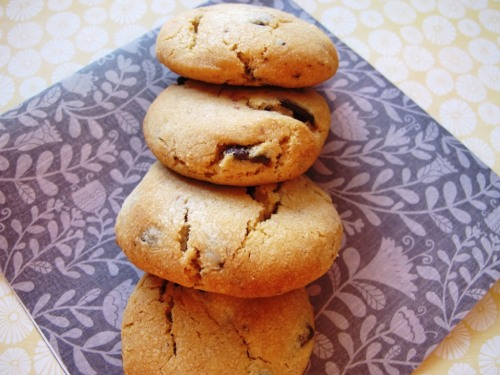 Sweetened condensed milk chocolate chip cookies