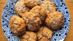 Chewy Apricot Oatmeal Cookies with Toasted Almonds and Sea Salt