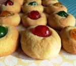Christmas thumprint cookies