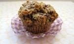 Chocolate chia muffin